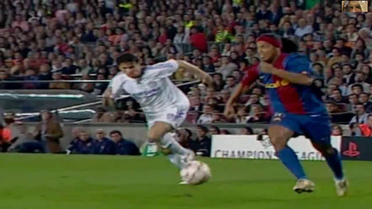 Ronaldinho vs Chelsea UCL Home 2006 - 2007 HD 720p - YouTube