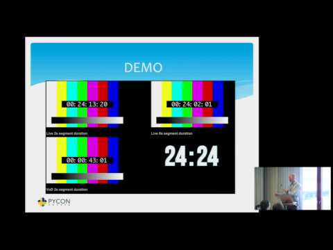 A Reference DASH Live Video Source - PyCon SE 2015