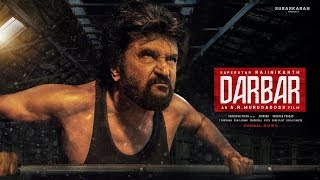 Darbar Second Look Motion Poster | Rajinikanth | AR Murugadoss | Anirudh