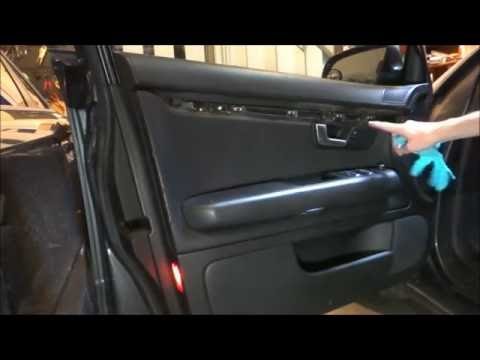 How to Remove A4 Interior Door Panel (B6B7)  YouTube