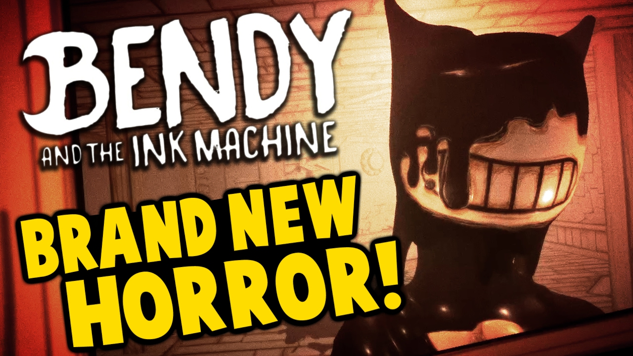 Bendy and the Ink Machine - NEW HORROR GAME! Disney Gon ...