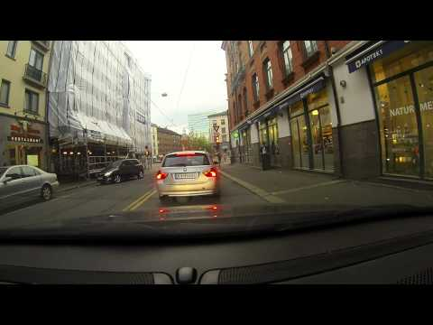 GoPro Hero 3 Black Edition :  Tour of Oslo,Norway