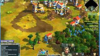 Age Of Empires Online Walkthrough - Pt.202 Greek - Grab Some Lumber Take Some Cuts