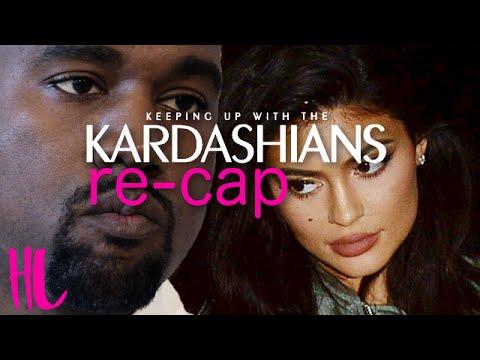 Kylie Jenner Vs Kanye Feud Explained - KUWTK Recap