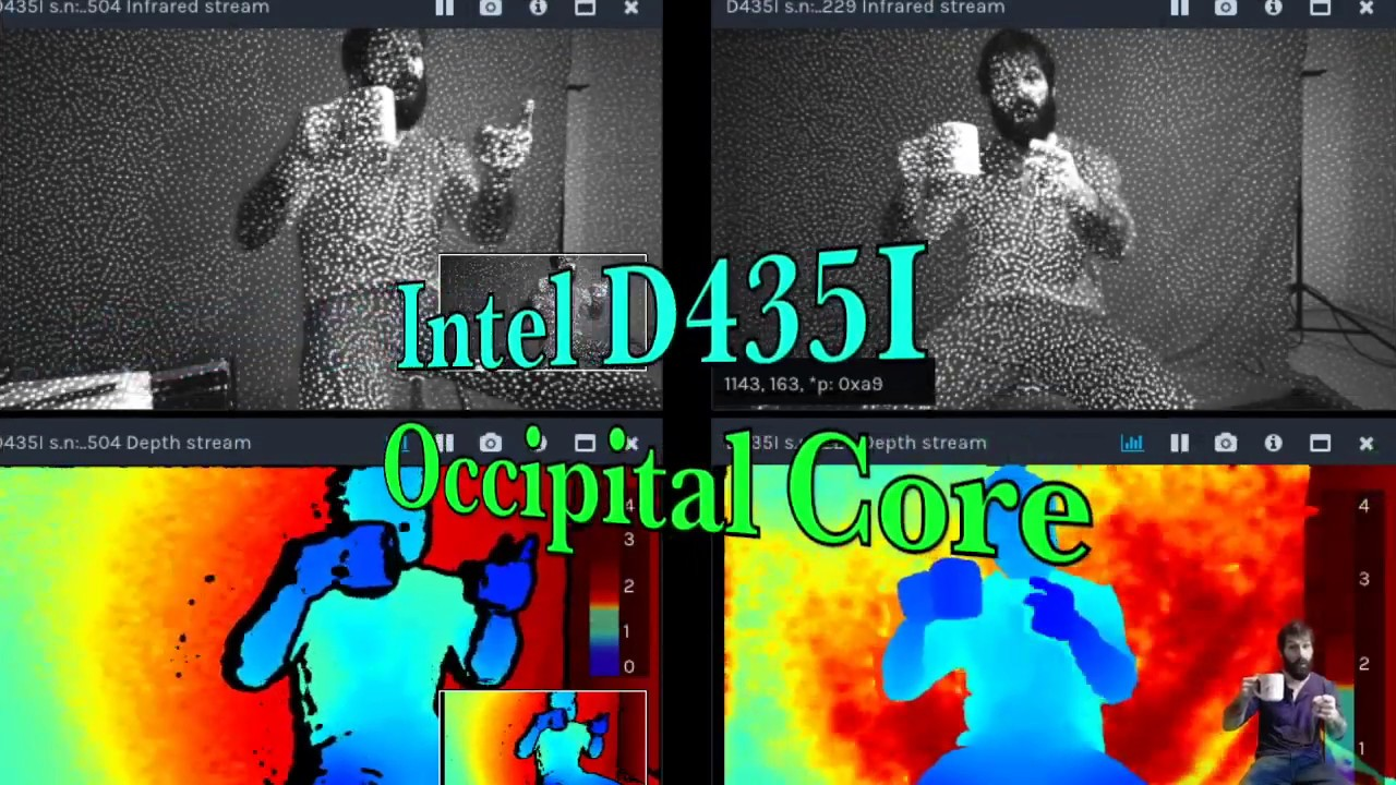 Intel D435i and Occipital Core Depth Camera Review