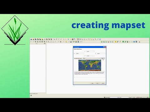 how to set mapset in GRASS