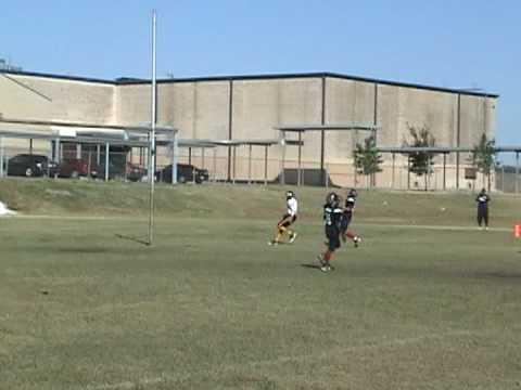 Ricky Utt - 2008 San Antonio Predators Youth Football Highlights