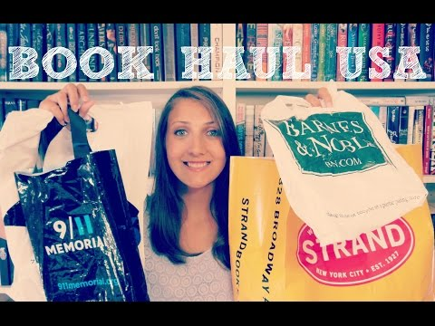BOOK HAUL USA | THE STRAND, BARNES & NOBLE, BOOKS INC. & MORE