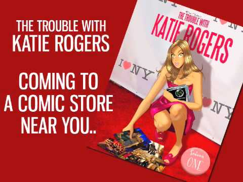 THE TROUBLE WITH KATIE ROGERS GRAPHIC NOVEL TRAILER