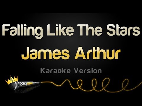 James Arthur - Falling Like The Stars (Karaoke Version)