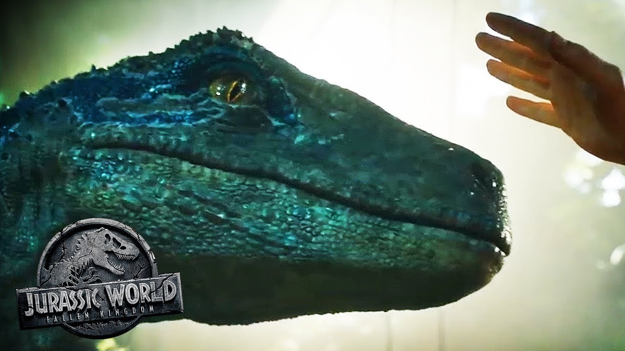 did the raptor pack survive what did blue hear jurassic world