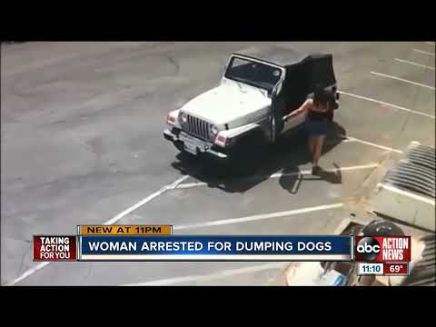 Java Joel - Woman Arrested For Dumping Puppies Into Dumpster