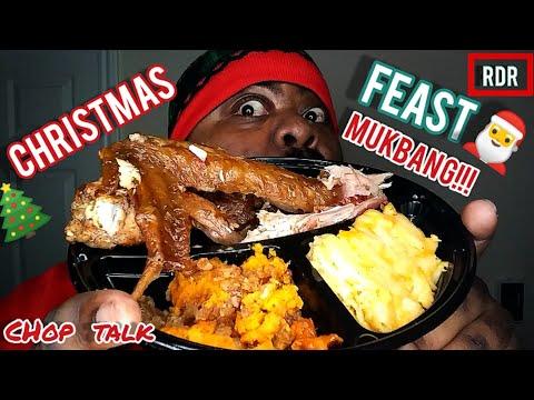 CHRISTMAS FEAST MUKBANG!!!!!