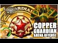 SUMMONERS WAR : Copper Guardian Level Arena Offense! :D