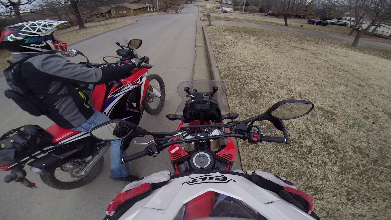 Tulsa Dual Sport Ride Near Chandler Park Honda 250 Rally