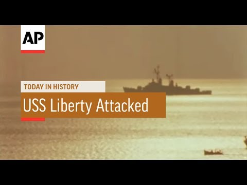 USS Liberty Attacked - 1967 | Today In History | 8 June 17