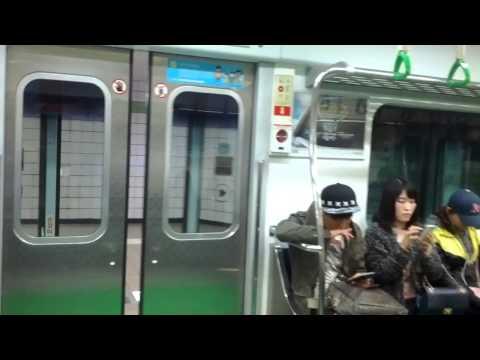 Subway seoul south korea