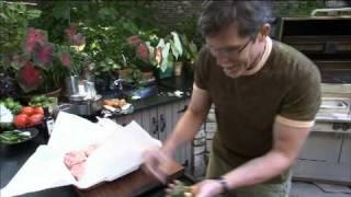 Chef Rick Bayless Grills Carne Asada Brava On A Kalamazoo Outdoor Gourmet Hybrid Grill