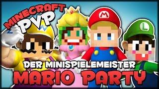 Der (Mini)SPIELEMEISTER & Flo HACKT • Minecraft PvP [MARIO PARTY] #006 | BLOQLER