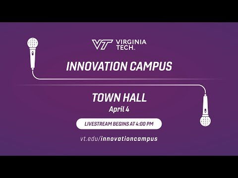 Live: Virginia Tech Innovation Campus Town Hall