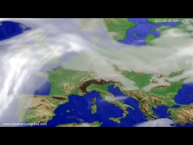 <h2><a href='http://webtv.eklogika.gr/' target='_blank' title='Cloud forecast Europe 2017-03-26'>Cloud forecast Europe 2017-03-26</a></h2>