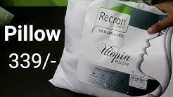 Pillow Unboxing Flipkart ¦ Recron Pillow Unboxing Flipkart ¦ Best Pillow Under 300/-¦ Fibre Pillow