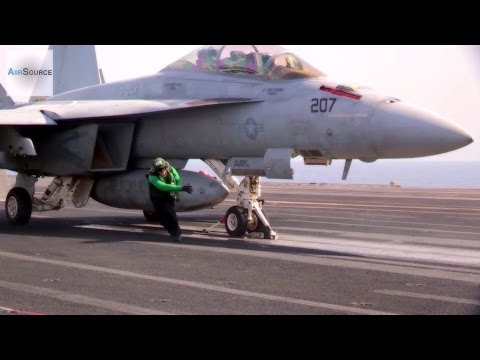 Aircraft Launches and Recoveries Aboard USS George H.W. Bush