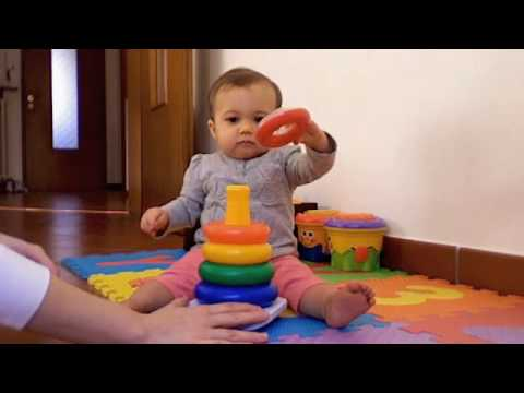 Baby Playing With Rings