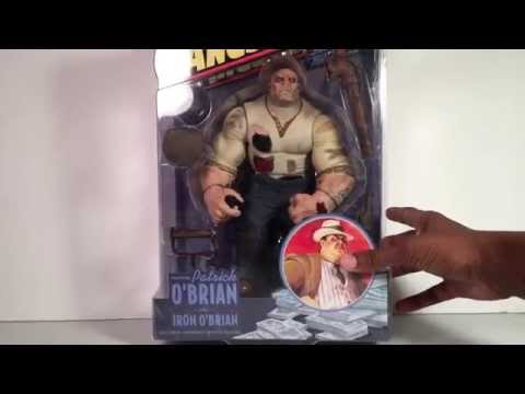 Mezco Gangsters Inc Patrick O' Brian Action Figure Review