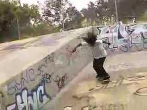 "Shuriken Shannon in the Osiris video ""Feed The Need"""
