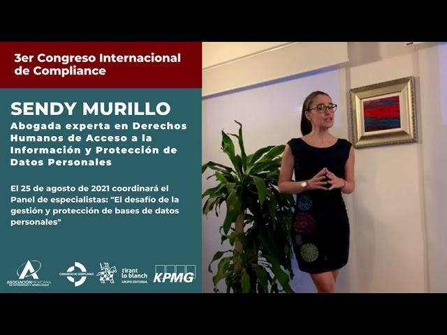 Sendy Murillo te invita al 3er Congreso AMEXICOM