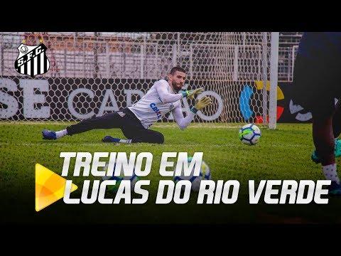 Santos FC treina em Lucas do Rio Verde