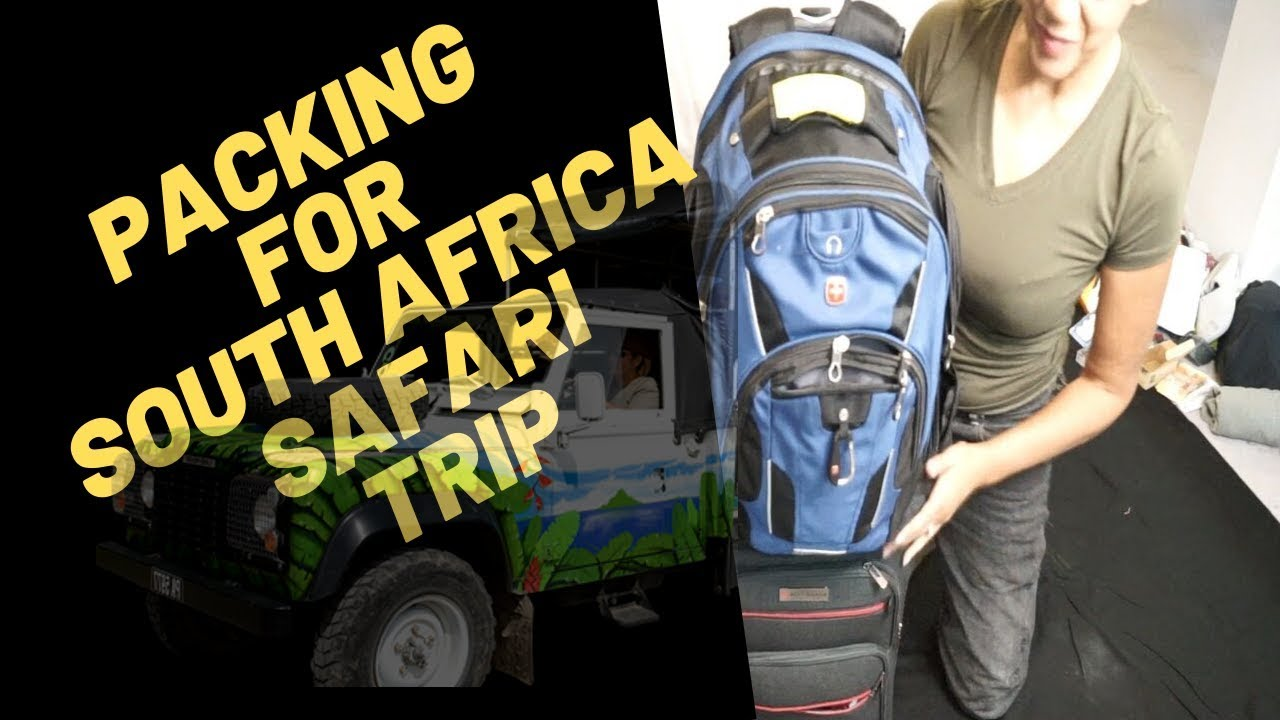 Packing For South Africa Safari