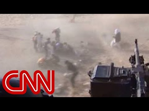 Yazidi survivors in Dohuk rescued by helicopter.