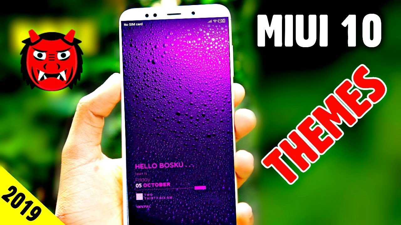 Most Powerful Miui 10 Themes 2019 || Powerful Customised | Any Mi Phone