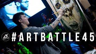 Art Battle Brasil #45 - 19/04/2018