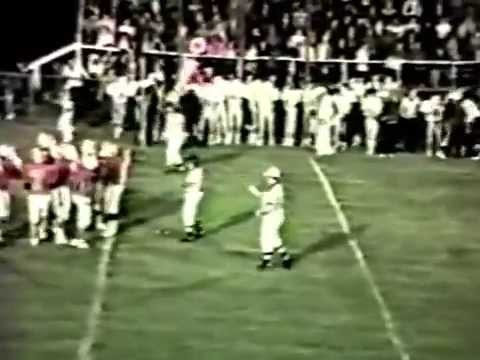 1985 Westville Yellowjackets at Stilwell Indians Football (COLOR)
