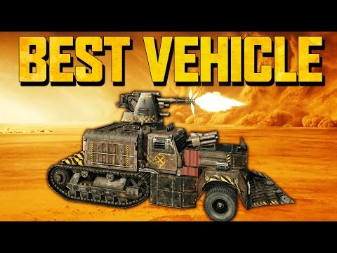 BEST VEHICLES IN CROSSOUT & 100mm Cannon! (Crossout Gameplay)