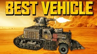 BEST VEHICLE IN CROSSOUT - 100mm Cannon! (Crossout Gameplay)