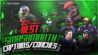 BEST SMASHMOUTH CAPTAINS AND COACHES IN MADDEN OVERDRIVE!
