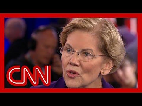 CNN: Elizabeth Warren pressed on health care: Will taxes go up?