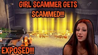 *Girl* Scammer Gets Scammed (Fortnite PVE) *MUST WATCH*
