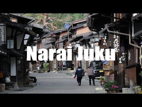 Narai Juku, Kiso Valley, Japan, 奈良井宿 - Canon 80D - Virtual Trip