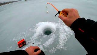 НА ЭТУ СНАСТЬ ЛОВИЛОСЬ ПО ДВЕ ШТУКИ зимняя рыбалка 2021