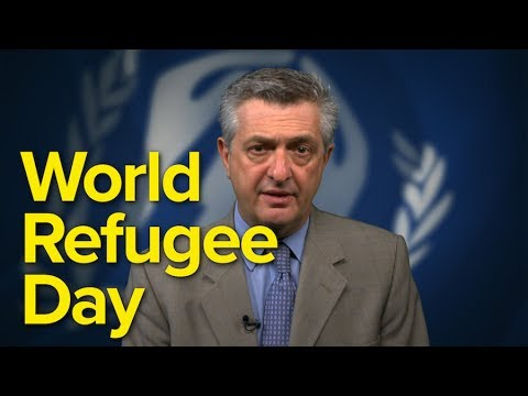 UN High Commissioner for Refugees,  Filippo Grandi on World Refugee Day 2017