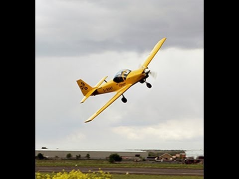 Slingsby Firefly Aerobatics, Take Flight Aviation, Music 'Ready to Go' by Republica
