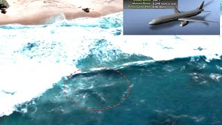 Flight MH370 Found On Google Earth Map Near Cape Of Good Hope, March 2016, UFO Sighting News.
