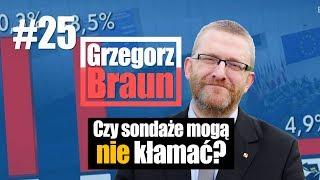 Czy sondaże mogą nie kłamać? Grzegorz Braun