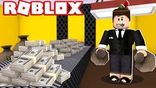 FACTORIA DE DINERO EN ROBLOX!! ¿He consigo rico? (Tycoon bancario)