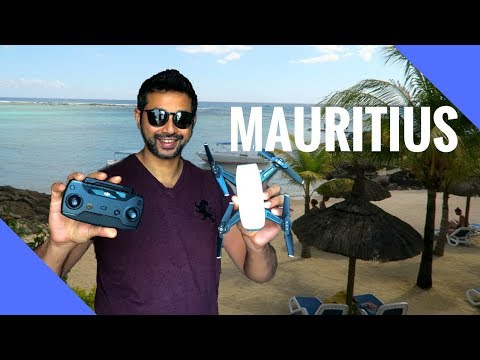 I took my new Dji Spark to Mauritius